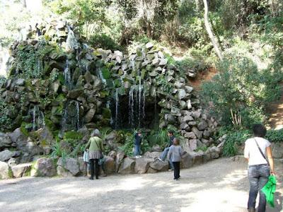 Cascada del Parc del Laberint