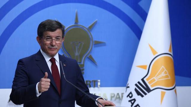Άγρια επίθεση Νταβούτογλου στον Ερντογάν