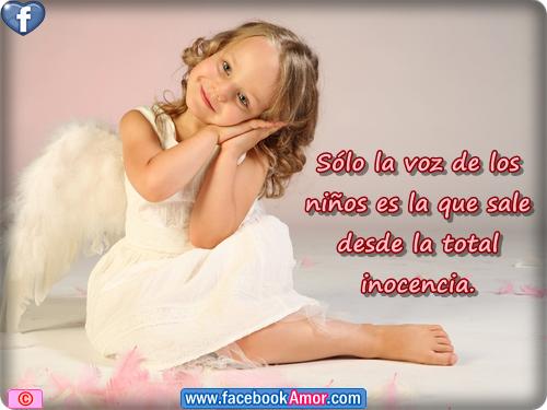 Imagenes De Bebes Con Frases De Amor: Imagenes Con Frases De Niños Para Facebook