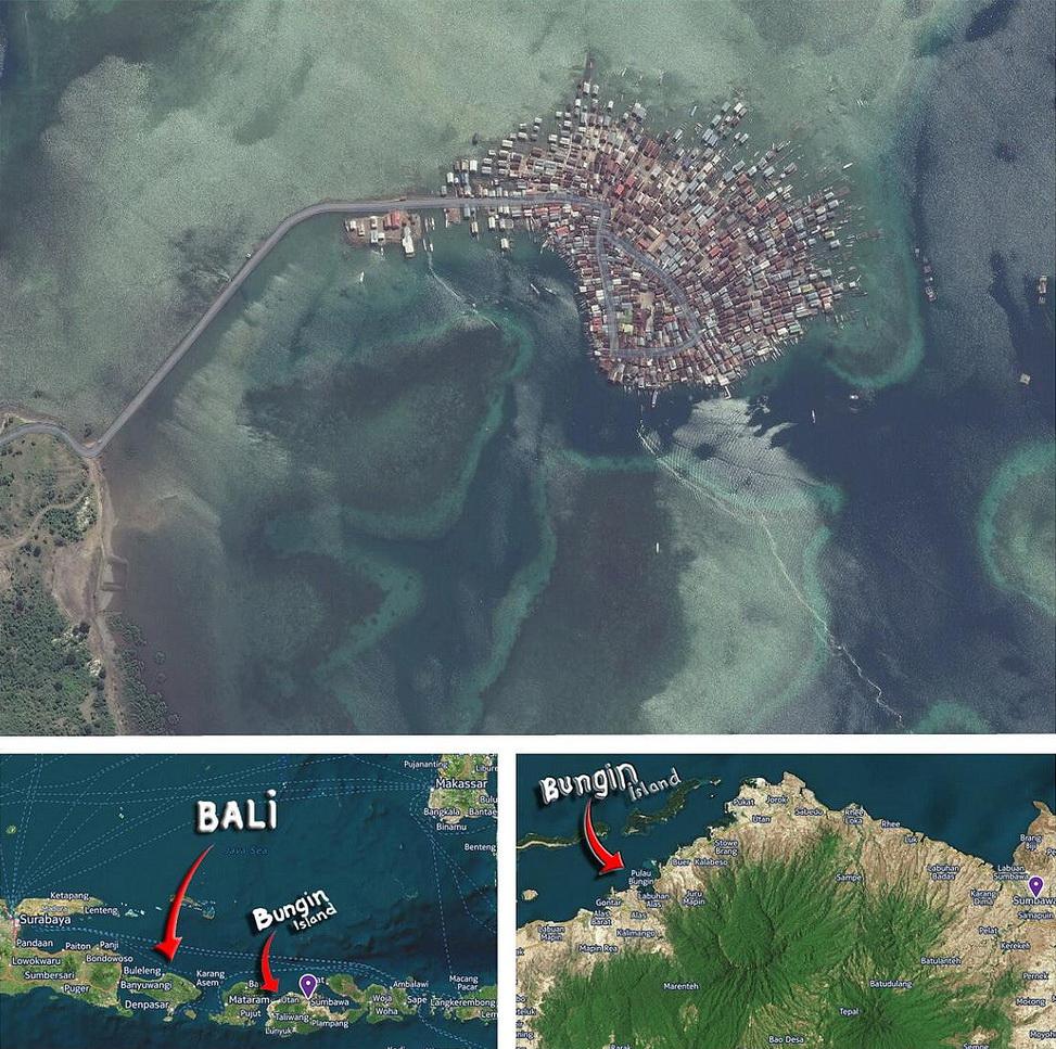 Pulau Warga Terpadat Dunia, Pulau ini Hampir Tak Punya Tanah, Paling Padat