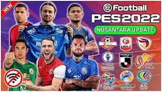 Download PES NUSANTARA PPSSPP Edition New Update Transfer & Kits Season 2021/2022