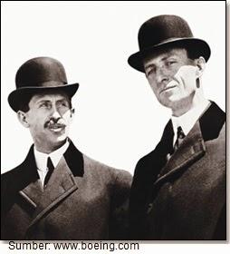 Orville dan Wilbur Wright; Bapak Dirgantara