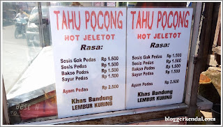 Tahu pocong hot jeletot