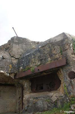Struttura difensiva del Memoriale 39/45 vicino a Saint Malo