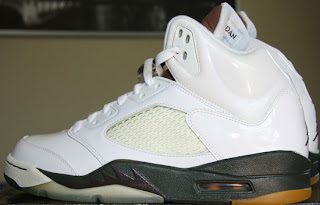 cdbe1b66d64 This Air Jordan 5 Retro Sample is one that was different that the released  version. Check out the auction here.