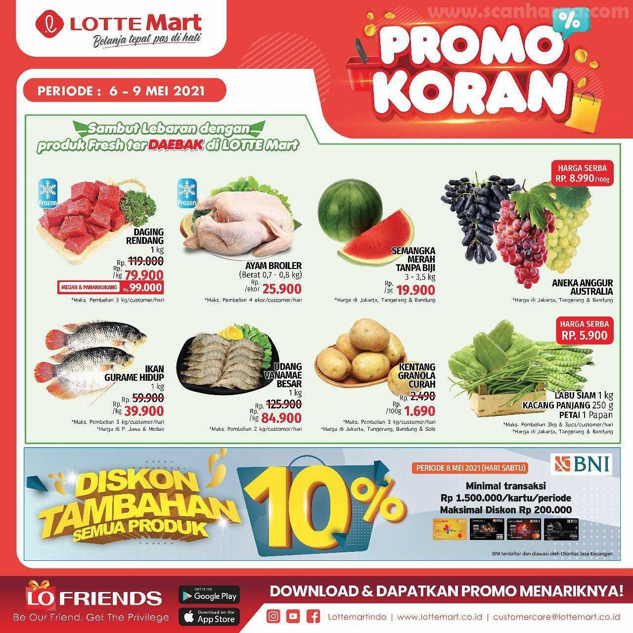 Katalog Promo Lottemart Weekend 6 - 9 Mei 2021 3