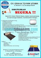 Info Lowongan Kerja di CV. Graha Tehnik Utama Surabaya November 2019