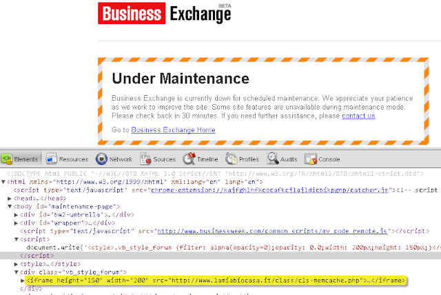Bloomberg's Businessweek website infected with Malware