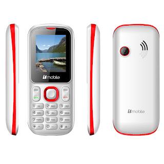 Celular B-Mobile Branco/Vermelho