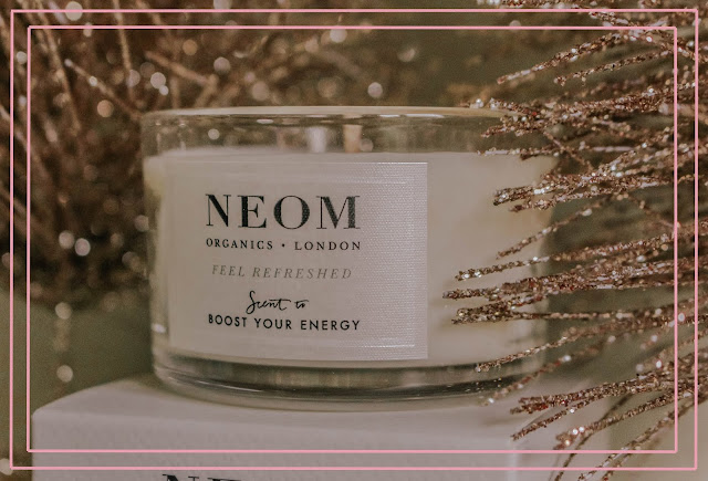 QVC Beauty Neom Candles Boost Your Energy