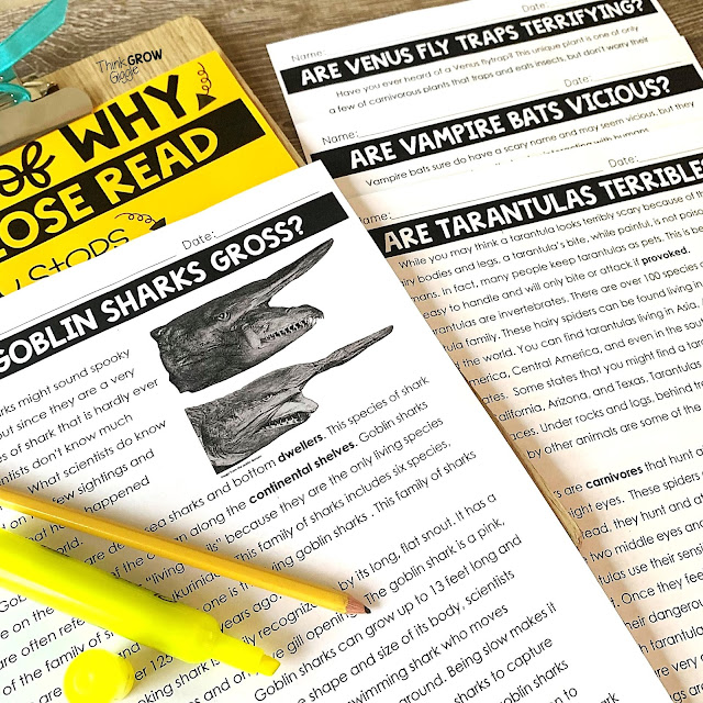 Creepy Animal Study and Close Reading
