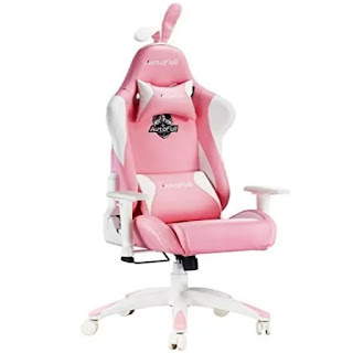 Autofill Pink Gaming Chairs Under $309 Available on Amazon 2021-22