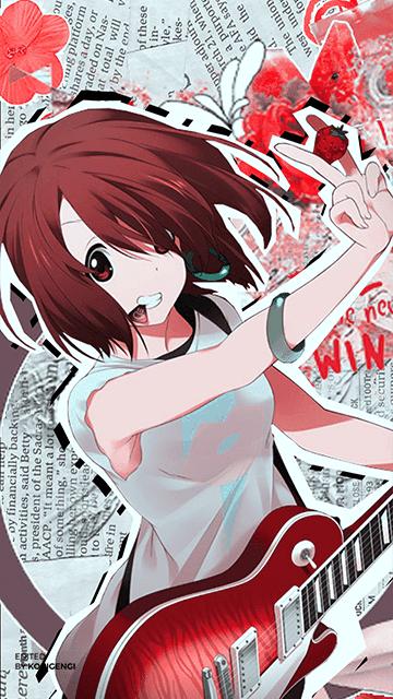 Yui Hirasawa - K-ON! Wallpaper