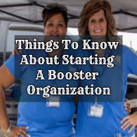 Things To Know About Starting A Booster Organization