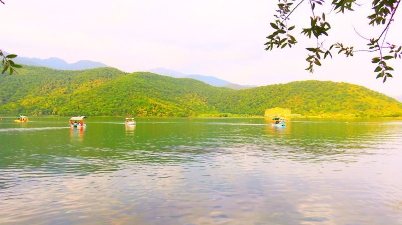 Nohur Lake in Qabala