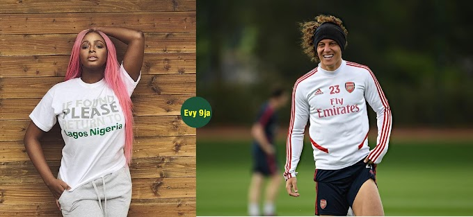 DJ Cuppy Shades David Luiz On His Contract Extension