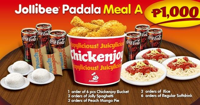 Jollibee Bucket Meal Philippines Updated