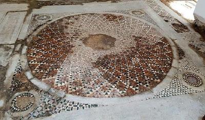 Ένα μωσαϊκό 100 τ.μ. κρυβόταν στην Παναγία Χρυσοκέφαλο, στην Τραπεζούντα