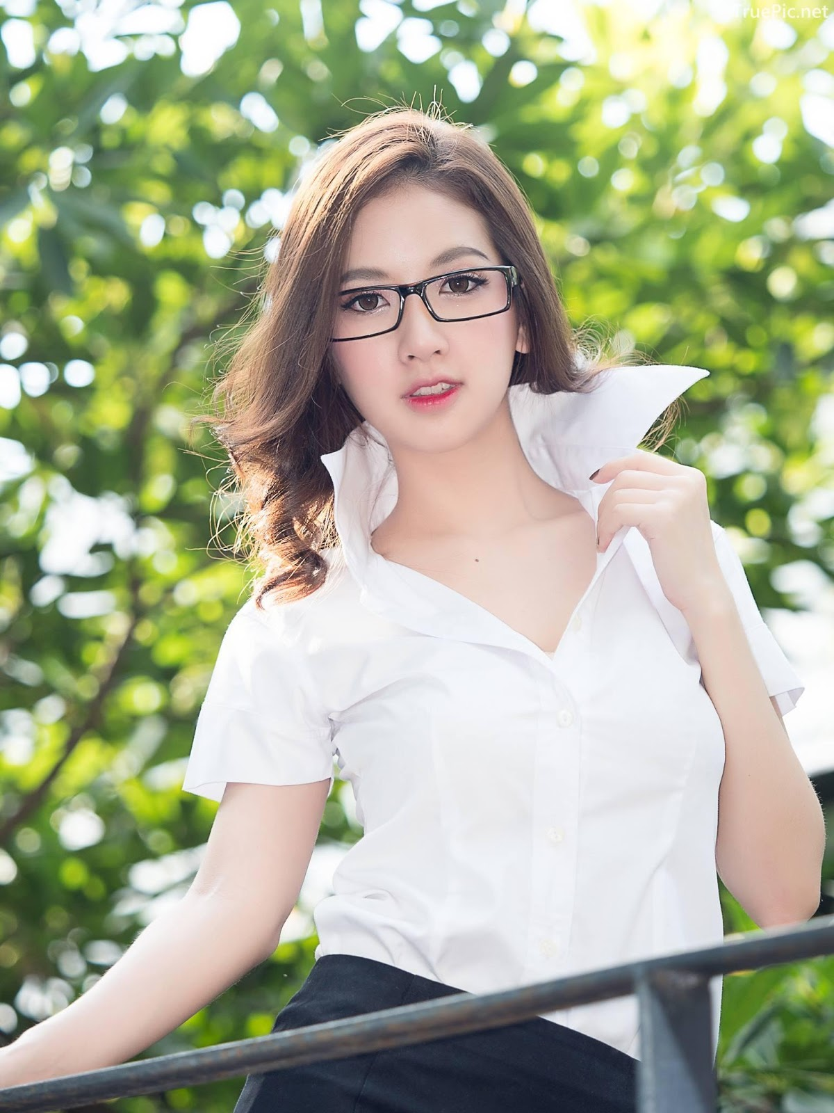 Thailand model - Yingaon Duangporn - Concept The Beautiful Office Girl - Picture 9