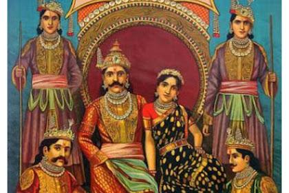 Asal Usul Dan Silsilah Keturunan Dinasti Kuru Mahabharata