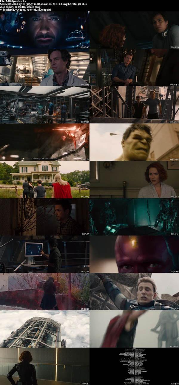 Avengers Age of Ultron 2015 BRRip 480p 400MB Screenshot