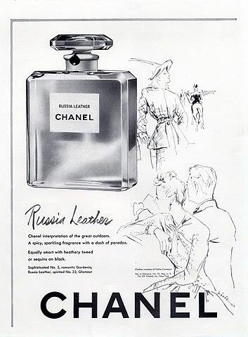 the scentimentalist chanel cuir de russie skin scent. Black Bedroom Furniture Sets. Home Design Ideas