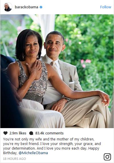 Barack-Obamas-birthday-message-to-Michelle