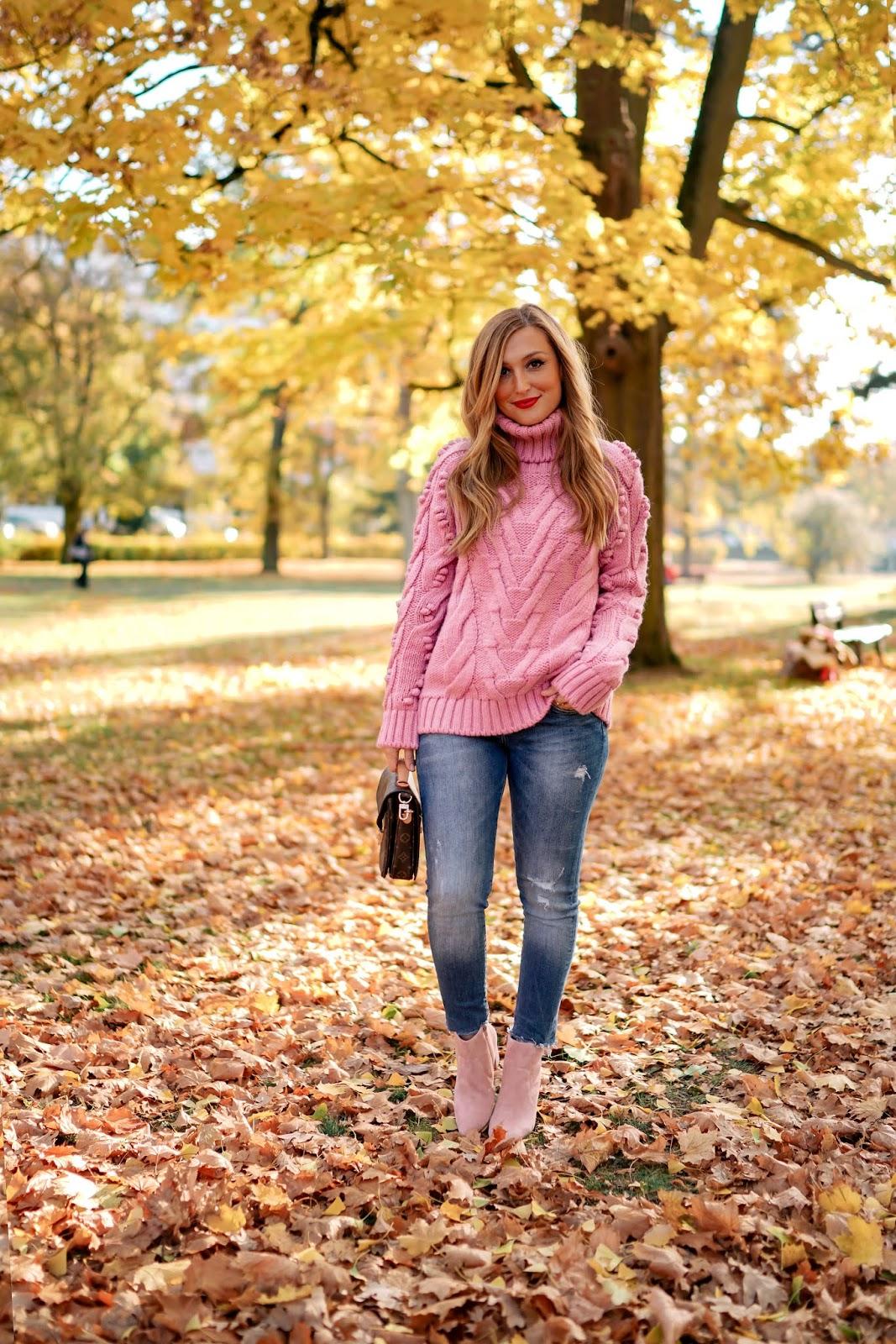 Pinker Pullover von Conleys
