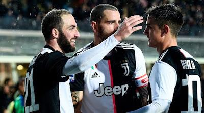 Video Cuplikan Gol: Atalanta 1-3 Juventus (Serie A)