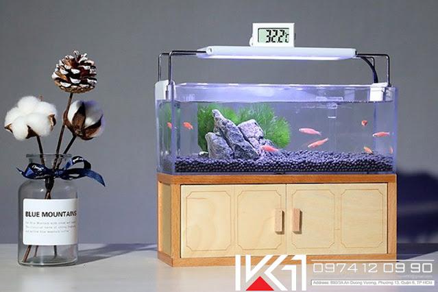 Bể cá mini để bàn văn phòng đẹp giá rẻ