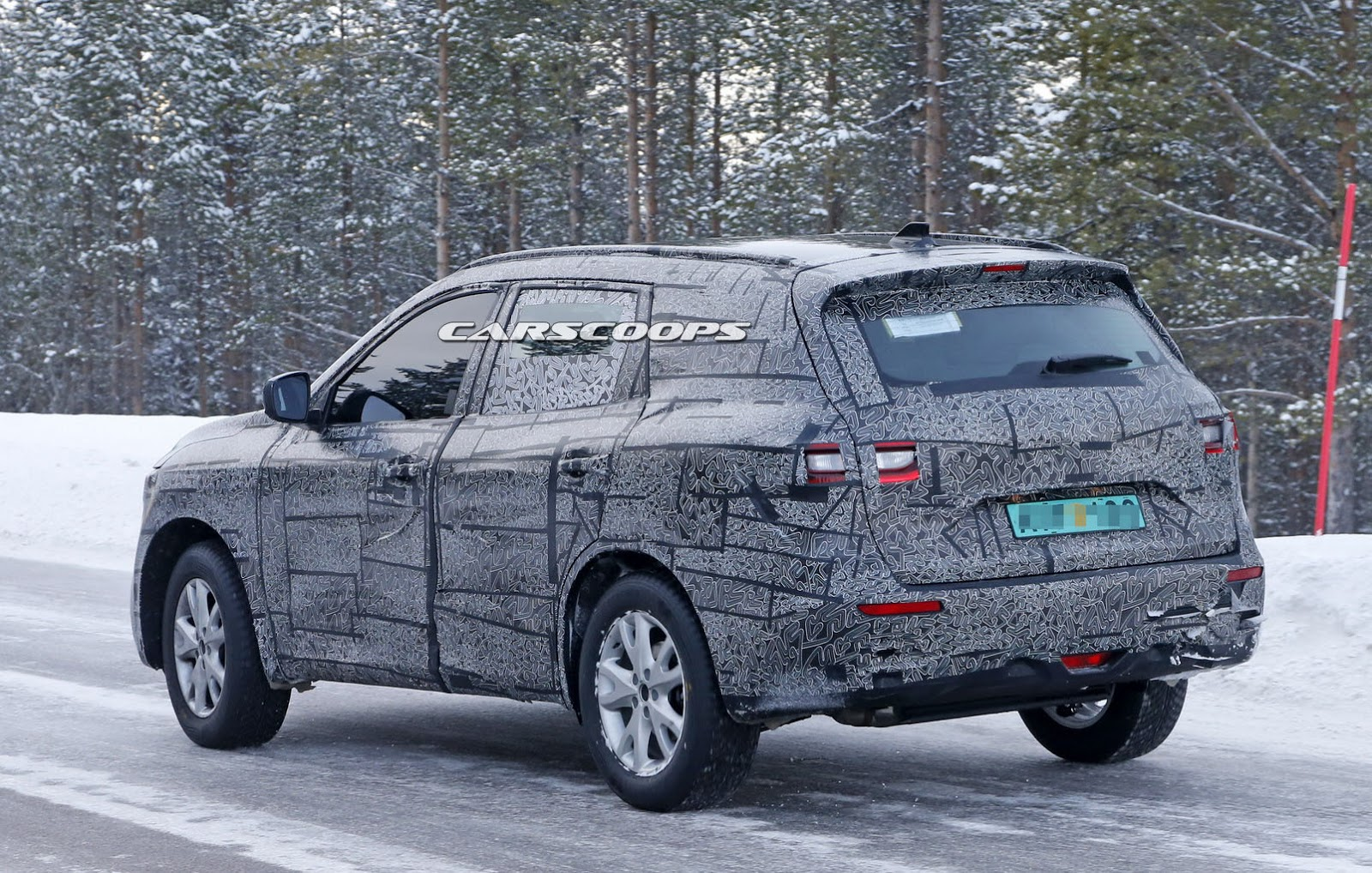 Renault Gives First Glimpse Of Its New Large Suv Carscoops
