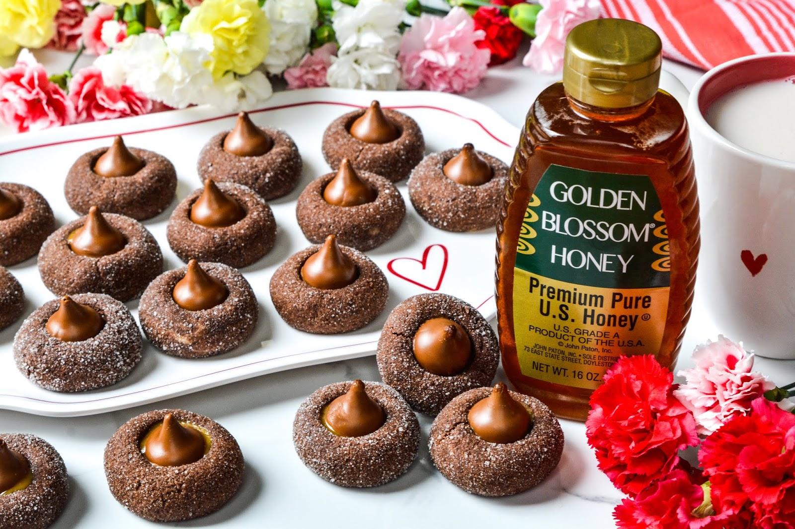 Chocolate Peanut Butter Kiss Cookies