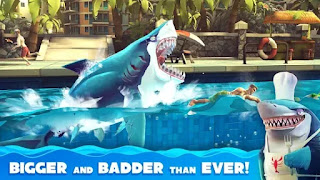 hungry shark world mod apk + obb file download