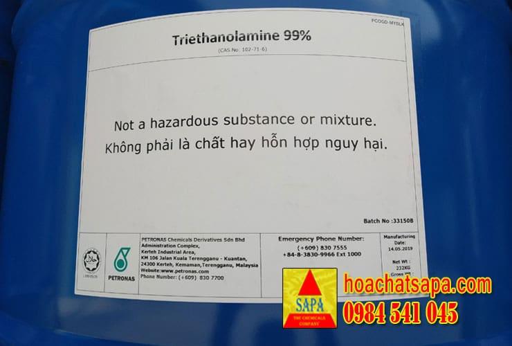 Triethanolamine 99% (TEA)
