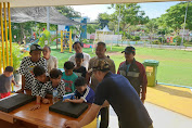 Modern Pentathlon Indonesia (MPI) Berikan  Pengenalan dan Pelatihan Menembak Pada Anak Anak  Di RPTRA Kalijodo