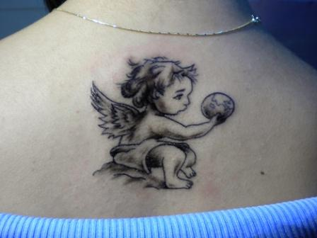 angel tattoo for girls - photo #13