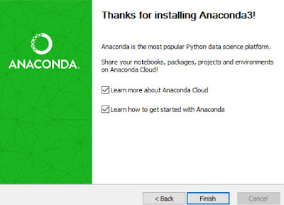 Anaconda installation
