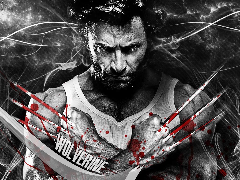Hugh Jackman Wallpapers Hd: HollyWood Stars: Hugh Jackman Wolverine Movie New HD