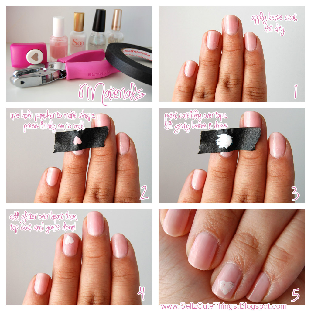 SellzCuteThings: How To Get Perfect Shapes On Your Nails