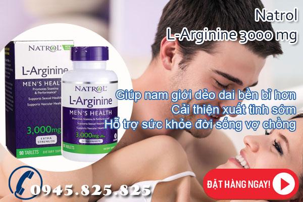 Viên thuốc cải thiện chức năng sinh lý L-Arginine 3000 mg
