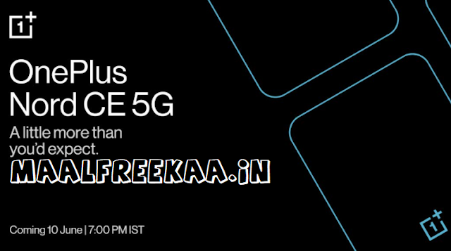 Get Free OnePlus Nord CE 5G Phone
