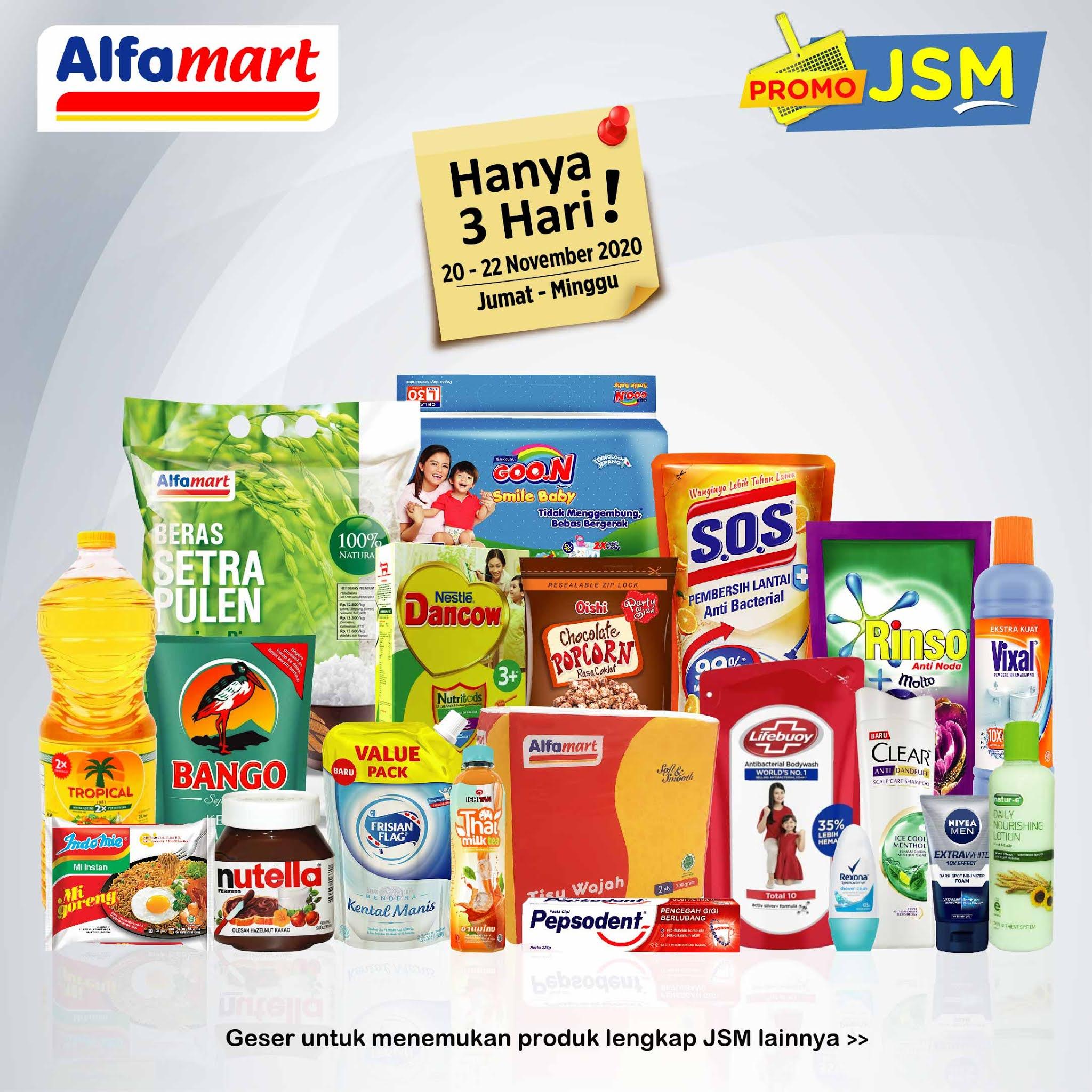 Promo Alfamart Jsm Akhir Pekan 20 22 November 2020 Harga Diskon