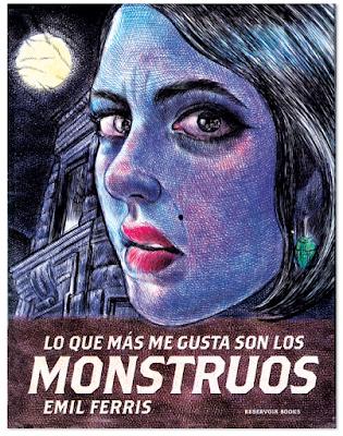 Lo que más me gusta son los monstruos de Emil Ferris novela grafica bic