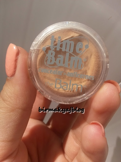 The Balm Dosyası 6 # Time Balm Concealer