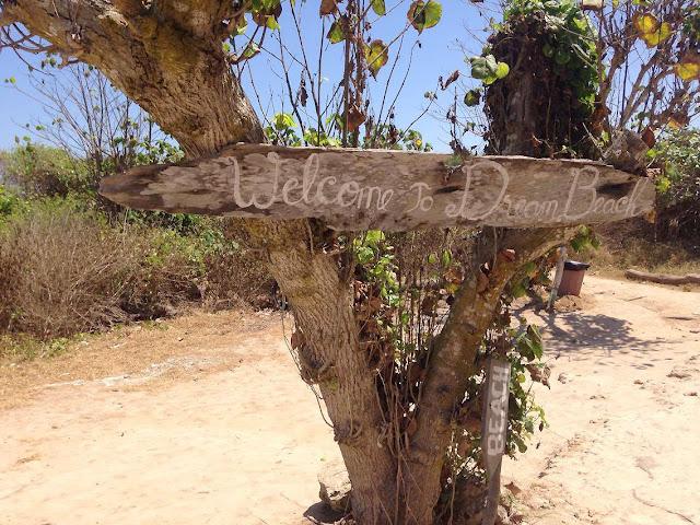 DreamBeach à Nusa Lembongan