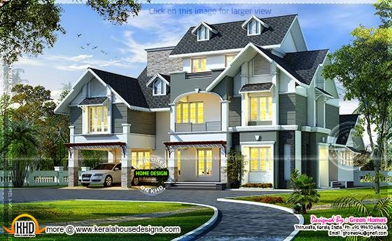 Very beautiful European model home