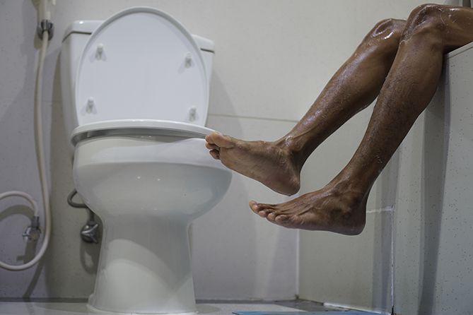 Sudah pagi, jangan lupa mandi