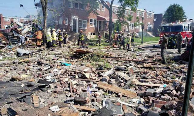 انفجار قوي في مدينة أمريكية يحوّل منازل إلى ركام (فيديو)