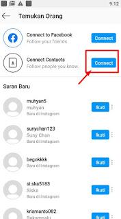 Cara Mencari Teman di Instagram Melalui No HP
