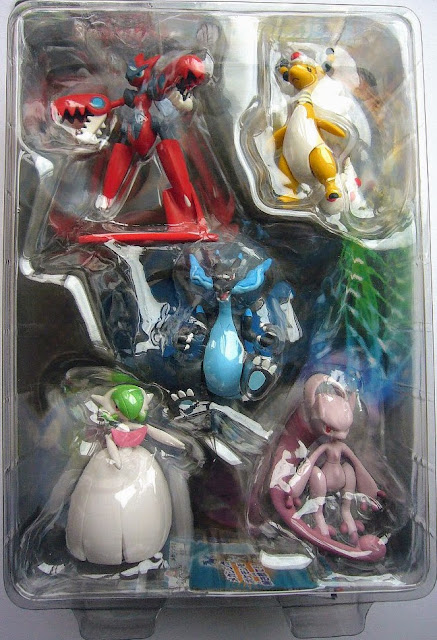 Takara Mega Mewtwo Y Tomy Monster Colletion MONCOLLE Mega Evolution Special Selection set